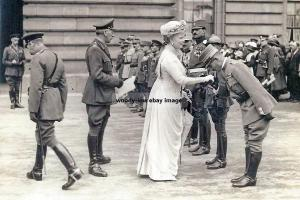 mm832 - King George V and Queen Mary - Royalty photo 6x4