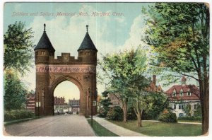 Hartford, Conn, Soldiers and Sailors Memorial Arch