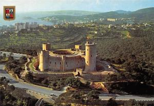 Spain Mallorca Palma Beliver Castle Air view Castillo de Bellver