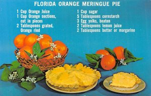 Florida Orange Meringue Pie Recipe Unused