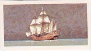 Brooke Bond Vintage Trade Card Saga Of Ships 1970 No 9 Ark Royal Galleon