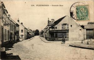CPA FLEURINES Grande Rue (377103)