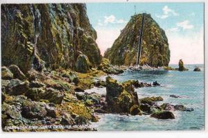 Sugar Loaf Rock, Santa Catalina Island CA