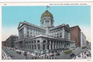 Illinois Chicago Post Office and Federal Building Curteich