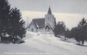 ADIRONDACK, New York, 1900-1910´s; Sanitarium Chapel, Saranac Lake