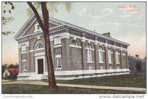 Alumni Hall Exeter New Hampshire