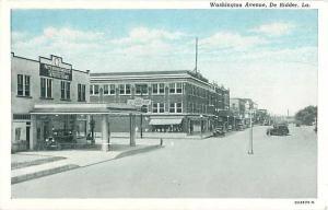 Washington Avenue, De Ridder, Louisiana LA White Border
