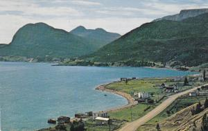 SHOAL BROOK, Newfoundland, Canada, PU-1972; West Coast area of Bonne Bay