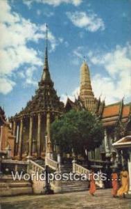Bangkok Thailand Temple of the Emerald Buddha  Temple of the Emerald Buddha