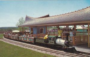 Miniature Train , Children's Zoo , Storyland Valley , EDMONTON , Alberta , Ca...