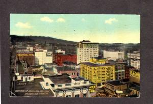 OR Business District Imperial Hotel 1911 Portland Oregon Postcard