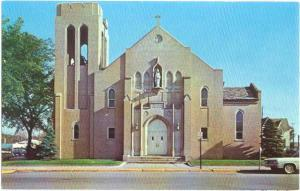 Church of St. Brigid, Gordon St at Ellsworth, Midland, Michigan, MI, Chrome