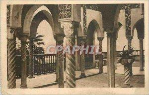 Old Postcard Algiers era Paul Pavilion palace