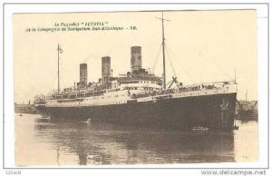 Oceanliner,Lutetia - Navigation Sud-Atlantique -00-10s