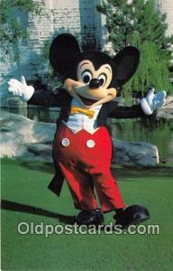 Mickey Mouse Walt Disney World, FL, USA Postcard Post Card Walt Disney World,...