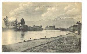 Bords De l'Isere- Lever De Soleil, Grenoble (Isere), France, 1900-1910s