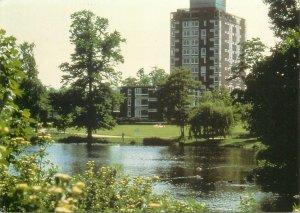 Postcard England University of Birmingham Mason Hall