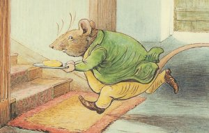 The Tale Of Samuel Whiskers Beatrix Potter Book Postcard