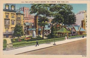 The little Church Around The Corner New York City New York