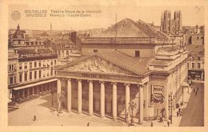 Belgium Bruxelles Theatre Royal de la Monnale, Money's Theatre Opera