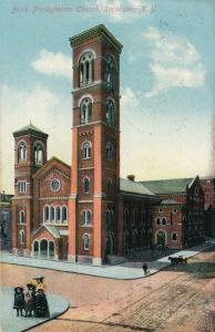 Brick (or First?) Presbyterian Church Rochester New York TRANS.CLK Cancel pm1911