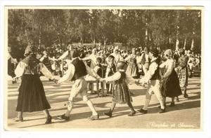 RP  Ringlekar pa Skansen , Sweden, PU-1937 Dancing Children