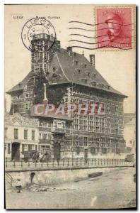 Old Postcard Liege Musee Curtius