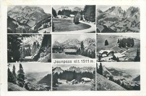 Switzerland Jaunpass photo collection Swiss Alpes beautiful landscape Postcard