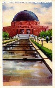 IL - Chicago. Adler Planetarium & Terrazo Promenade
