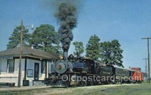 Reader RR, Reader, AK ,Arkansas, USA Train Railroad Station Depot Post Card P...