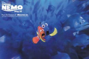 Screaming Nemo & Dory from Disney Pixar Movie Finding Nemo