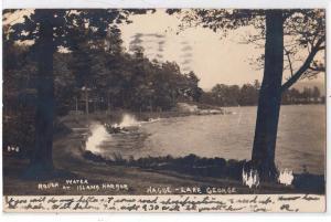 RPPC, Lake George NY - Hague - Island Harbor