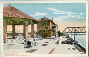 NY - Albany, Recreation Pier