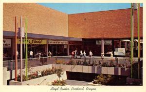 Portland Oregon~Lloyd Center Shopping Mall~Center Concourse~Sandy's Kodak~1960