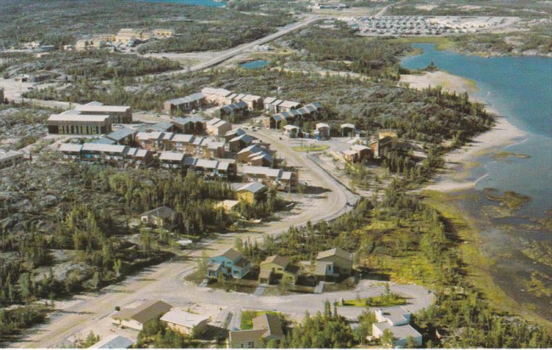 Aerial View, Maonabbee Subdivision, YELLOWKNIFE, Northwest Territories, Canad...