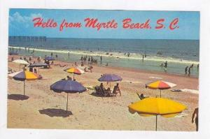 Fun On The Sand,Greetings-Myrtle Beach,SC,1940-60s