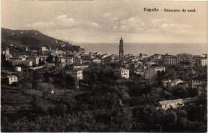 CPA RAPALLO Panorama da nord. ITALY (530165)
