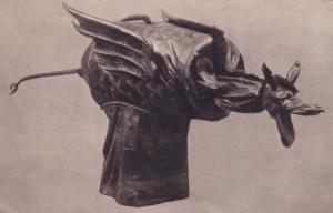 Norwich Norfolk Dragon Mythology Castle Antique Postcard