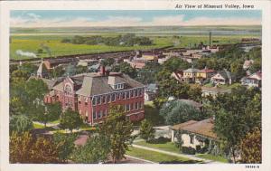 Air View of Missouri Valley, Iowa, 30-40s