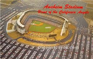 Anaheim Stadium, Home of the California Angels Anaheim, California, CA, USA S...