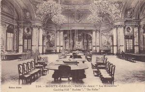 Monte Carlo Casino Gambling Hall Roulette