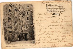 CPA St-MALO - Maison de la Duchesse Anne (226552)