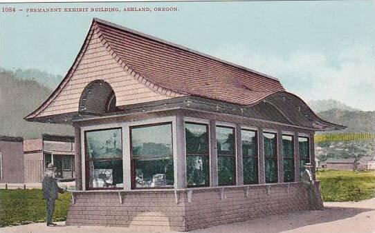 Oregon Ashland Permanent Exhibit Building