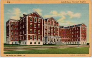 LISBON, Texas  TX   UNITED STATES VETERANS HOSPITAL in Dallas   c1940s  Postcard