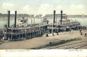 Mississippi River Levee Ferry Boats, Ship Unused