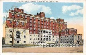 St Louis, MO, USA Postcard Post Card New Jewish Hospital