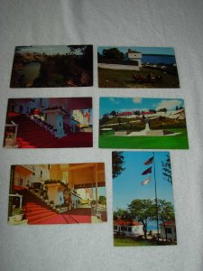 Mackinac Island MI - Lot Of 6 Great Vintage Postcards - x0508