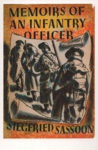 Memoirs Of An Infantry Officer Siegfried Sassoon 1931 Book Postcard