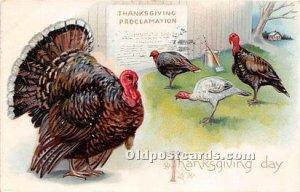 Thanksgiving Greetings 1907