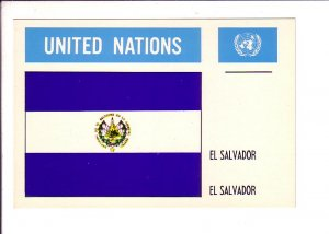 El Salvador Flag, United Nations